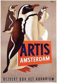 Eppo Doeve voor Artis Penguin