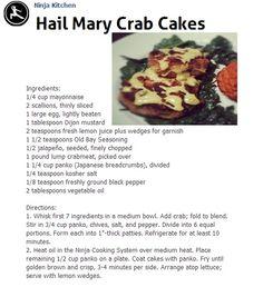HAIL MARY CRAB CAKES