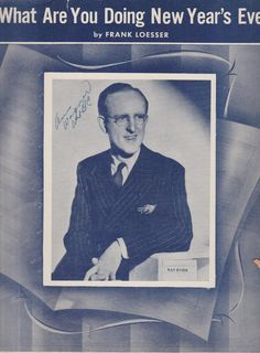 Just bought this Kay Kyser sheet music for \