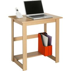Office Desk - Beech Effect £19.99 Size H72, W70.5, D50cm