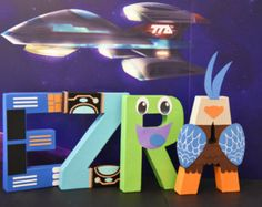 Moana Paper Mache Letters  ONE LETTER