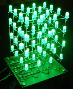 LED Cube, controlled by Arduino
