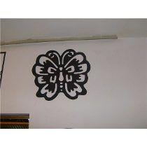 Borboleta Mdf Aplique De Parede Vazada S/pintura 20cm