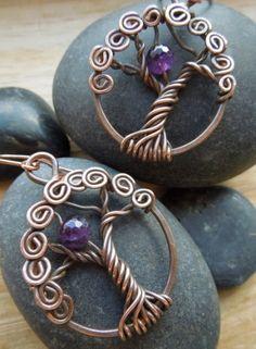 Vixen's Natural Jewelry - Tree earrings!