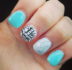 Love the combination of colours and designs!