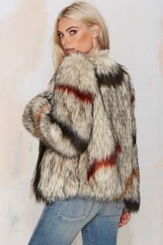 World Tour Faux Fur Coat - That '70s Flow | Jackets | Faux Fur