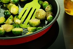 roasted-brussels-sprouts 2 pounds of brussels sprouts 2 tbsp olive oil ...
