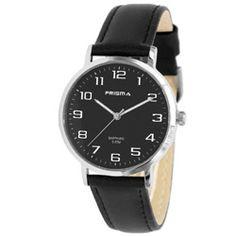 Prisma Horloge 1743 Heren Edelstaal met Saffierglas