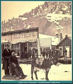 Lake City Colorado 1889