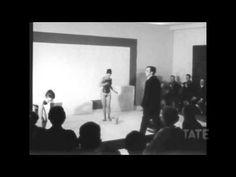 TateShots- Yves Klein - Anthropometries - YouTube Yves Klein, Artist Project, Klein Blue, Environmental Art, Artist Art, Contemporary Paintings, Videos, Monochrome, Interview