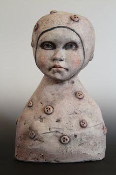 Ceramic Sculpture Untitled by KarenKWalker on Etsy, $200.00