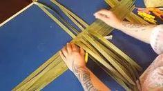 The Hetet School of Maori Art : A glimpse into weaving classes with Veranoa Hetet - YouTube