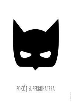 Plakat pokój superbohatera