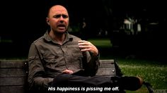 Overly positive people are your biggest pet peeve. 15 Signs You're The Karl Pilkington Of Your Friend Group Positive People, Positive Words, Happy People, Group Of Friends, Great Friends, Funny Quotes, Funny Memes, Hilarious, It's Funny