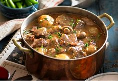 Traditional beef bourguignon can be intimidating, but with this straightforward recipe and help from your slow cooker, this classic French dish is a breeze.