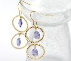 Piccadilly Drop Earrings | AllFreeJewelryMaking.com