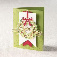 Wondrous Wreath Photopolymer Stamp Set