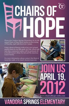 Chairs of Hope Poster