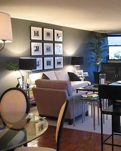 Home Decor Photos: Sleek and Modern Manhattan Living Room from The Nest