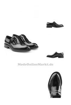 | #Jil #Sander #Leder #> #Monkstraps #> #Schwarz #für #Herren