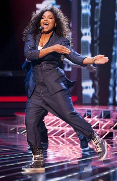 Janet Jackson LIVE at The X-Factor, 2010...LOVE!!!