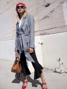 9 On-Trend Plaid Blazers to Covet Now