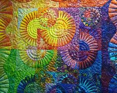 Quilt ----- Patterns & Colors by njchow82, via Flickr