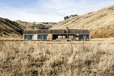 Located on a 4,000-acre farm on Bank Peninsula, the Scrubby Bay House is a remote refuge on New Zealand's South Island. The cedar-clad farmhouse is inspired by an aging piece of driftwood surrounded by grazing stocks and goes nearly undetected,...