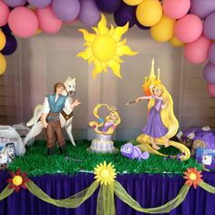 Rapunzel - Tangled Party table!