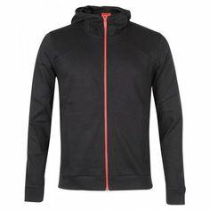 Hugo By Hugo Boss Mens Black Des Hooded Sweatshirt