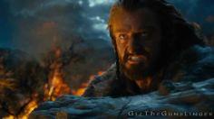 Richard Armitage as [The Hobbit] Thorin Oakenshield - Run, Boy, Run