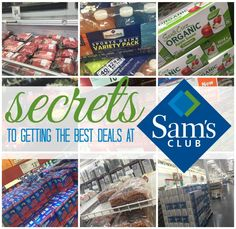 Secrets at Sam's Club! How to save the most money and get the best deals!