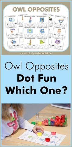 Owl Opposites (from 1+1+1=1)