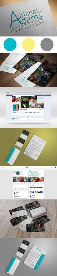 Adriana L. Adams Photography Branding Design by BMays Design
