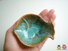 cute fish dish by iammie