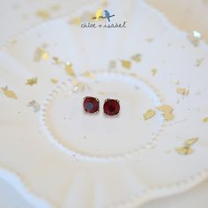 Shop the 'Birthstones by c+i' collection on my boutique today! Ruby red just for my July lovelies!