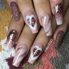 Nail Artwork is one of the simplest ways to precise your love. Be it Crimson Nail Designs or Coronary heart Nail Designs, Valentine's Day Nail Artwork concepts is limitless. There are such a lot Red Nail Art, Pink Nails, Glittery Nails, Color Nails, Gradient Nails, Holographic Nails, Nail Colors, Gorgeous Nails, Pretty Nails