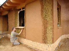 Construction de maison en paille House in Straw