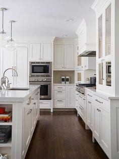 Perfect Pental Quartz Lattice Countertops, Transitional, Kitchen, Benjamin Moore  Atrium White Kitchen Cabinet Styles