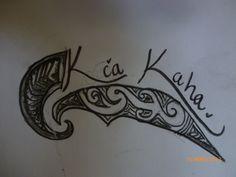 kia kaha tattoo Love Tattoos, Tribal Tattoos, Tatoos, Tattoo Ideas, Tattoo Designs, Les Mills, Hawaiian, Tatting, Body Art
