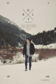 Christmas event flyer design
