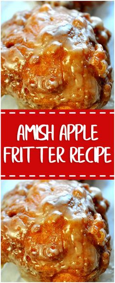 Amish Apple Fritter Recipe – Fresh Family Recipes
