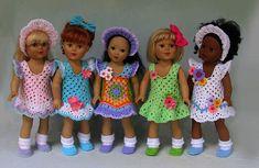 "Crochet doll dress pattern /""Holiday Babies/"" PDF Download"