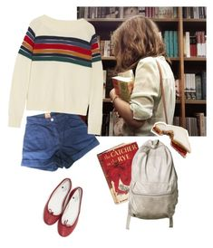 """A good student"" by linneminne ❤ liked on Polyvore featuring Levi's Made & Crafted, Band of Outsiders, Edition, Origins, Repetto, women's clothing, women, female, woman and misses"