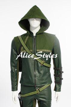 Green Arrow la deuxième saison Oliver Queen Cosplay par AliceStyles, $15.99