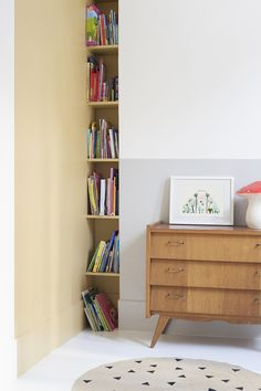 smart way to use your space and store books & small accessories