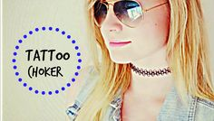 Suene Fernandes: Moda: Voltou: Tattoo Choker.