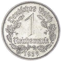 REICHSMARK 1939 B DRITTES REICH IN ÖSTERREICH
