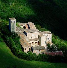 Monastero di Santa Croce di Fonte Avellana, Serra Sant'Abbondio (PU), Marche - Italy