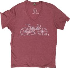 Bike Houston V-Neck